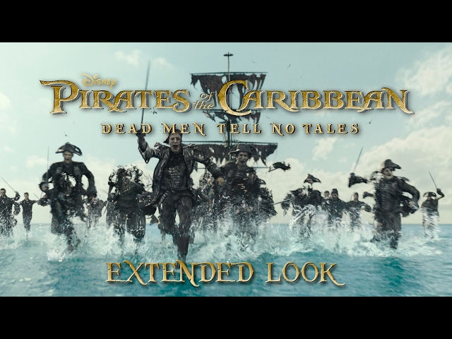 Pirates of the Caribbean: Dead Men Tell No Tales Video 1