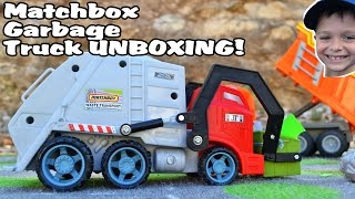 GARBAGE TRUCK Videos For Children l Matchbox Waste Transport Truck UNBOXING l Garbage Trucks Rule!