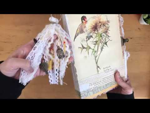 The Junk Trunk Kit Unboxing and Junk Journal Creation