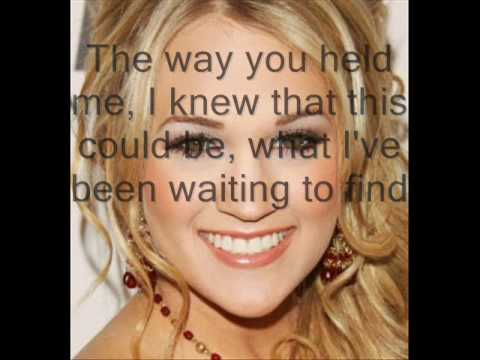 Look At Me- Alan Jackson and Carrie Underwood With Lyrics