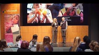 Linda Teuteberg beim Girls Day 2019 | Microsoft Berlin