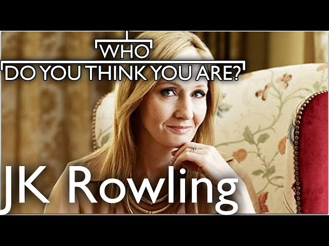 Author J.K. Rowling Finds Truth About Family History! | Who Do You Think You Are