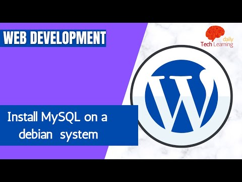 How to Install MySQL on a debian system