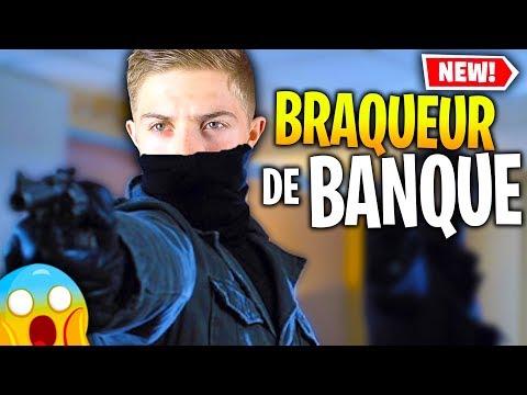 J'SUIS UN VRAI INFILTRÉ SUR CE MODE BRAQUEUR DE BANQUE SUR FORTNITE CRÉATIF !!!