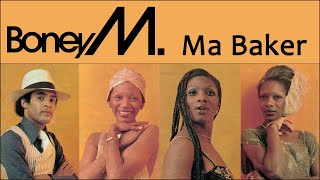 BONEY M. – Ma Baker (RARE TV Performance 1977)