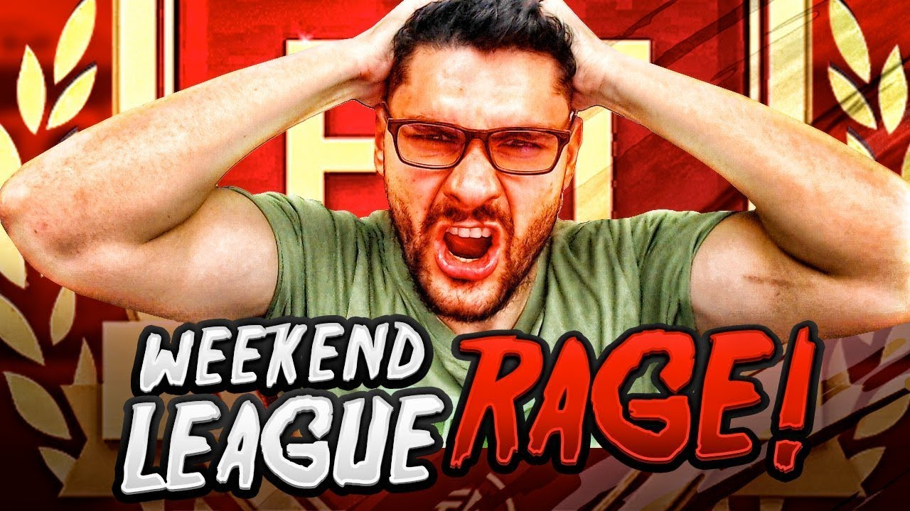 FIFA 19 MY WEEKEND LEAGUE GONE WRONG - INSANE FIFA RAGE BECAUSE OF THE EA  SERVERS !!