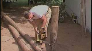 Fence Building 101 With President Reagan
