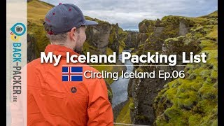 What to pack for Iceland - my Iceland Packing List (Circling Iceland Ep.06)