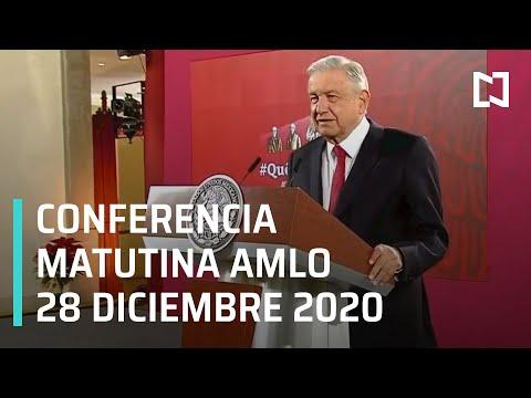 Conferencia matutina AMLO/ 28 de diciembre 2020