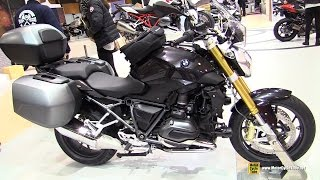 2016 BMW R1200R Accessorized - Walkaround - 2015 Salon de la Moto Paris