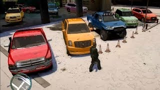 GTA 4 BIG DEALER 4X4 PICK UP FOR SNOW WEATHER REAL
