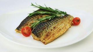 Скумбрия запеченная в духовке - Рецепты от Со Вкусом