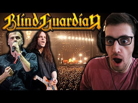"""Hip-Hop Head REACTS To BLIND GUARDIAN - """"The Bard's Song"""" & """"Valhalla"""" (Live At Wacken)"""