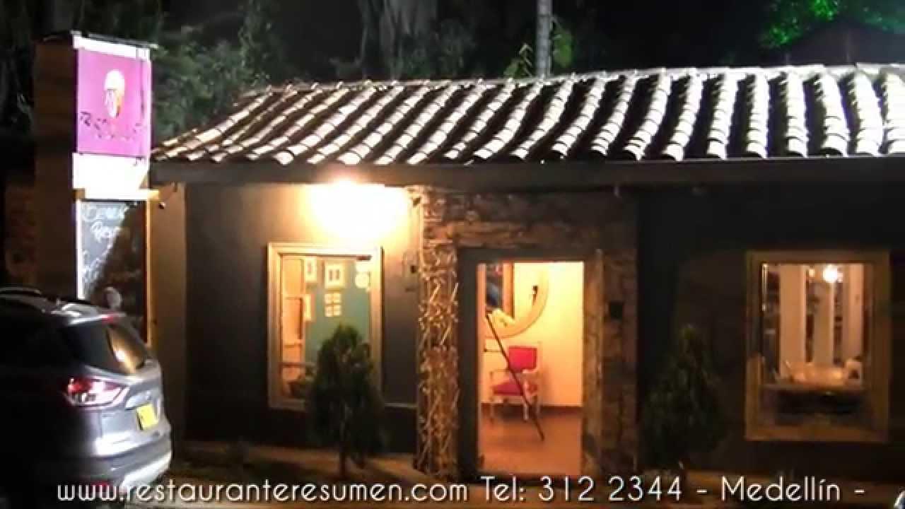 Restaurante Resumen - Poblado - Medellín - YouTube