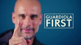 What was Pep Guardiola's first mistake in management? | First