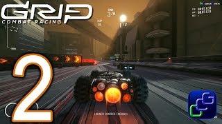 GRIP Combat Racing PC 4K Walkthrough - Part 2 - Tier 2: The Hydra Tournament 1-3