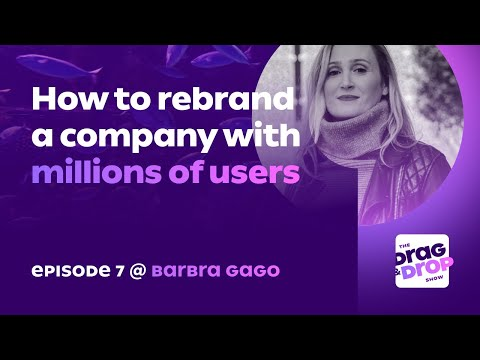 How to Rebrand a Company With Millions of Users – With Barbra Gago (Former Miro CMO)