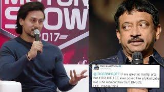 Tiger Shroff's BEST Reply To Ram Gopal Varma On GAY Tweet
