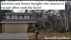 Auction.com House Flip Bought Site Unseen Before the Rehab 11/16/2018
