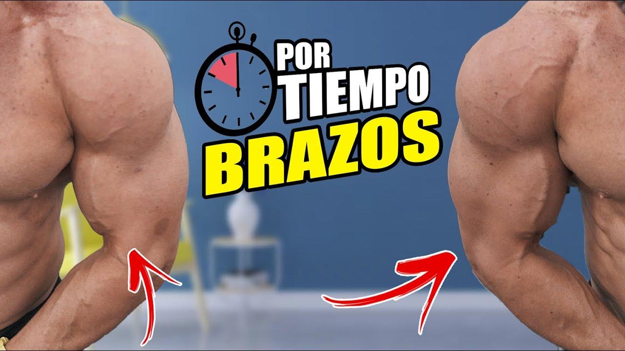 RUTINA DE BRAZOS BRUTAL EN CASA (Por Tiempo) - gymtopz