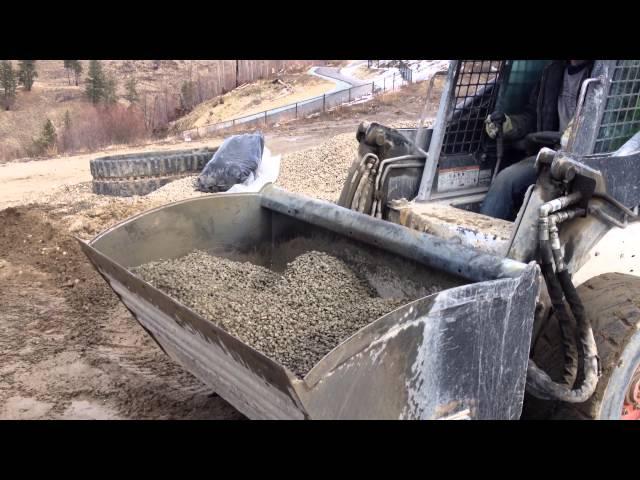 Concrete mixer bucket