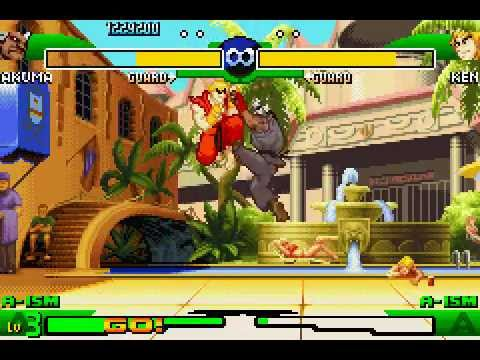 Game Boy Advance Longplay 073 Street Fighter Alpha 3 Youtube