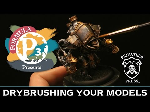 Formula P3 Presents: Drybrushing Your Models
