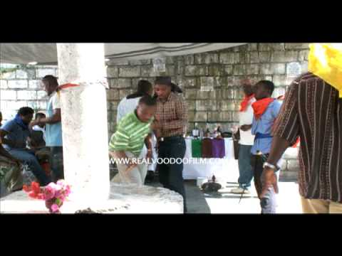 REAL VOODOO behind the scenes inside Daho Port au Prince, Ha
