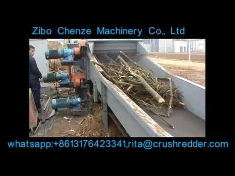 Drum Wood Chipper / Biomass Waste Grinding Shredder | Zibo Chenze | Crushredder.com