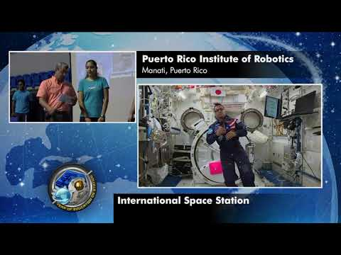 Space Station Crew Member Discusses Robotics with Puerto Rican Students