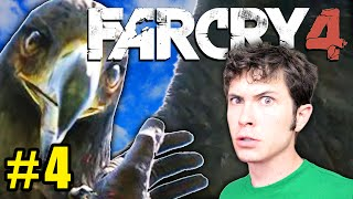 FAR CRY 4 Gameplay Part 4 - DEVIL BIRD JUMP-SCARE - Let