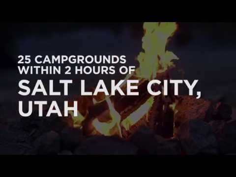 25 Campgrounds Within 2 Hours Of Salt Lake City, UT