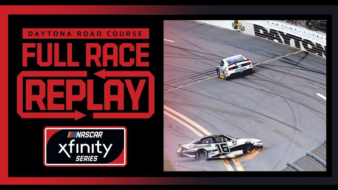 Super Start Batteries 188 At Daytona's Road Course | NASCAR Xfinity Series Full Race Replay