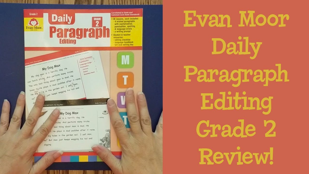 Evan Moor Paragraph Editing Grade 2 Homeschool Curriculum Review