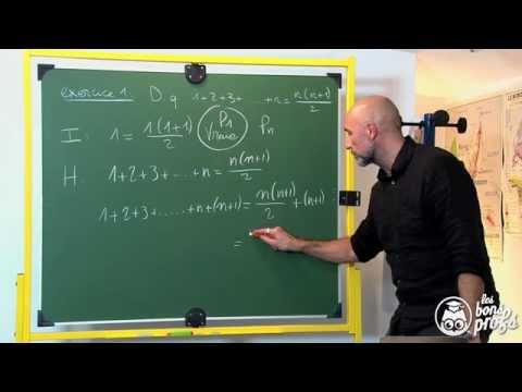 Raisonnement par récurrence - Exercice 1 - Maths terminale - Les Bons Profs