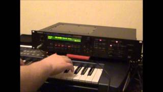 Roland JV 1080 - Full Preset A Bank Demo - 001 -128
