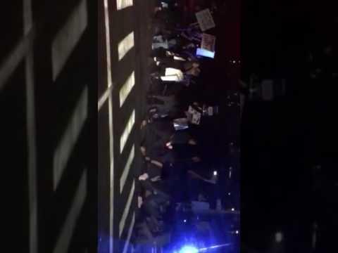 Protest in Holyoke Massachusetts