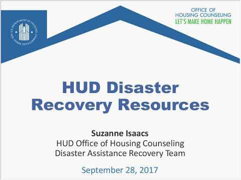 Finex Webinar: Disaster recovery and preparedness — consumerfinance.gov