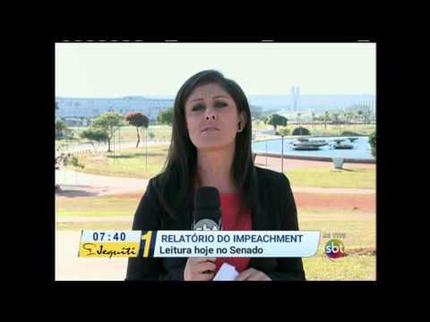 Primeiro Impacto (19/04/16) Leitura Do Processo De Impeachment Deve Ser Feita Nesta Terça-feira