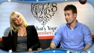 Whats Your Number w Anna Faris Chris Evans Chris Pratt Anthony Mackie  Carrie Keagan
