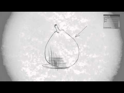 видео: ctrl+paint — Традиционная графика. Перекрестная штриховка. Урок 7