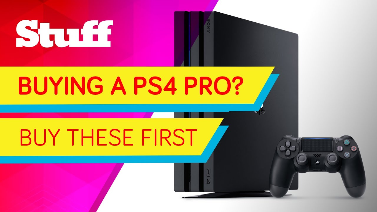 Things you should buy for your PS4 Pro   Stuff