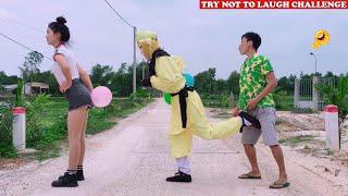Cười Bể Bụng Với Ngộ Không Ăn Hại Và Gái Xinh - Phần 71   Must Watch New Funny🤪 🤩Comedy Videos