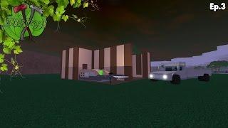 ROBLOX Lumber tycoon 2 (One Plot Challenge) Ep.3 New Base Design!