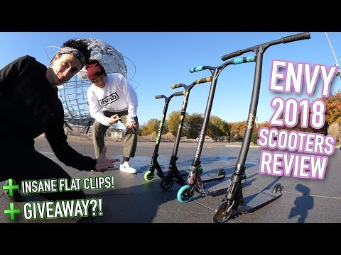 ENVY 2018 RANGE REVIEW! *INSANE FLAT CLIPS AND GIVEAWAY*