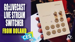 Roland GO:LIVECAST Livestreaming Studio for Phones