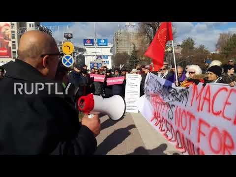 Macedonia: Protests as Stoltenberg addresses NATO ascension