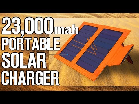23,000mAh Portable Solar Charger