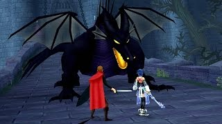 Kingdom Hearts Birth By Sleep: Maleficent (Dragon Form ) Boss Fight (PS3 1080p)