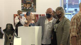 Inauguración de la Exposición Talleres de Plástica